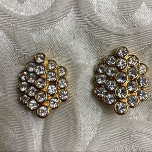 VINTAGE NOLAN MILLER GLAMOUR COLLECTION EARRINGS